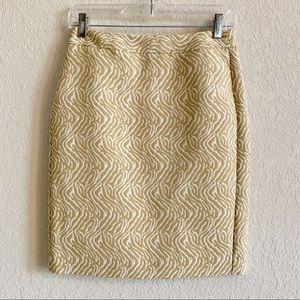 NWOT Banana Republic Pencil Skirt Size 0